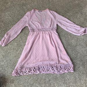 SHEIN pink dress